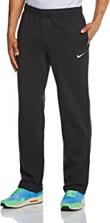 Nike Mens Club Open Hem Swoosh Sweatpants
