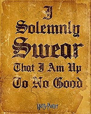 "Harry Potter ""I Solemnly Swear"" Mini Poster, 40 x 50 cm"