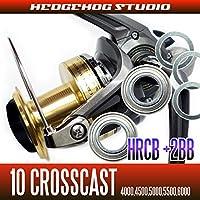 【HEDGEHOG STUDIO/ヘッジホッグスタジオ】10クロスキャスト用 MAX5BB フルベアリングチューニングキット【HRCB防錆ベアリング】