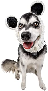 Zoo Snoods Panda Bear Dog Costume - Neck and Ear Warmer Snood for Pets