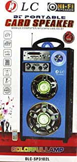 Bt Portable Card Speaker Mobile, Computer MP3, MP4, USB, SD DLC-SP3102L