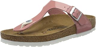 Birkenstock Gizeh Womens Fashion Sandals, Pink (Old Rose), 41 EU