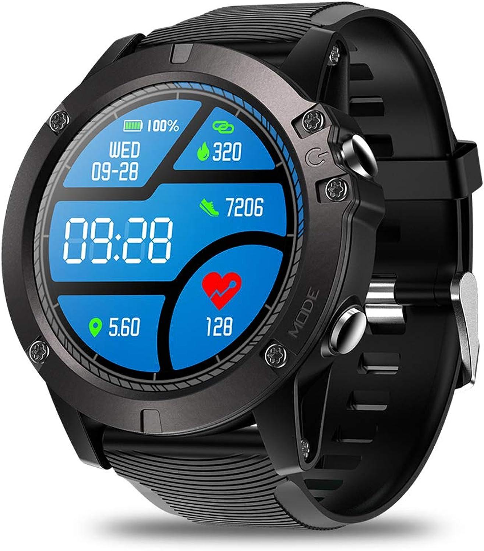 Fitness Tracker Smate Watch, Activity Tracker, 1.3 Farbe Screen Smartwatch mit Message Reminder Heart Rate & Sleep Monitor Calorie, für Android und iOS,schwarz