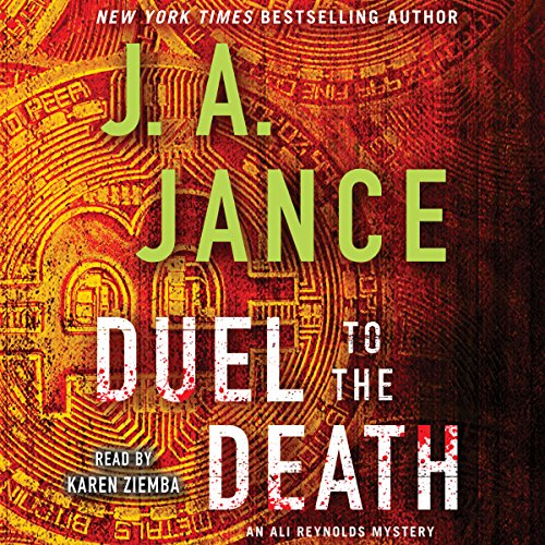 Duel to the Death audiobook cover art