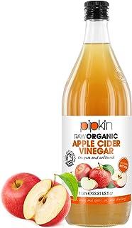 comprar comparacion Pipkin Vinagre de Sidra de Manzana 100% Orgánico, Con Madre, Puro, Sin Refinar y Sin Filtrar, Vegano y Vegetariano, 1L (Fr...