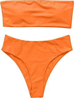 Valuable information orange top bikinis
