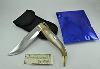 Couteau Celaya Classic Albacete Laiton Taureau n 1