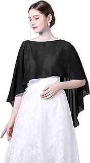 Wedding Capes Womens Soft Chiffon Cape Shawls and Wraps Shrugs For Evening dresses