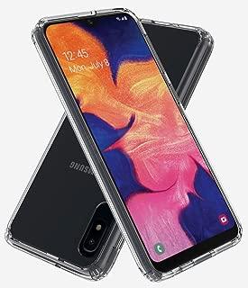 ASMART Galaxy A10E Case, Samsung Galaxy A10E Case, See-Through Galaxy A10E Phone Case Clear Crystal Cover Slim Grip Bumper Acrylic Transparent Protective Case for Samsung Galaxy A10E (Clear)