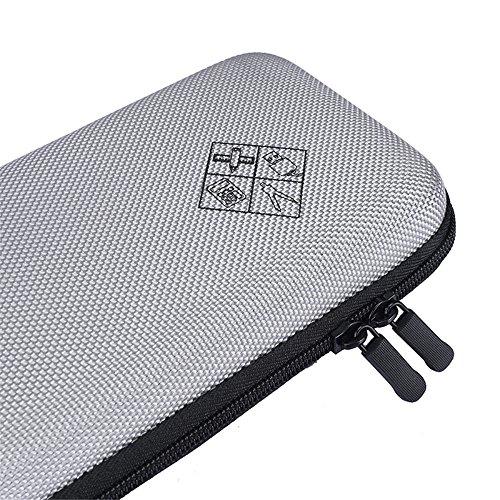 Eyglo Hard Case for Texas Instruments TI-84 Plus CE TI-83 Plus TI-89 Titanium HP 50G Graphing Calculators Storage Travel Pouch Box (Gray) Photo #7