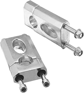 SODIAL Motorcycle 28Mm 1-1//8 Pivoting Handlebar Riser Handle Bar Clamps for 690 990 Adventure Triumph Tiger 800 1200 XT1200Z Silver