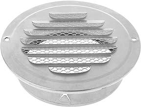 1 stks Roestvrijstalen buitenkant Muur Air Vent Grille Ronde Ducting Ventilation Grilles (Color : 70mm)