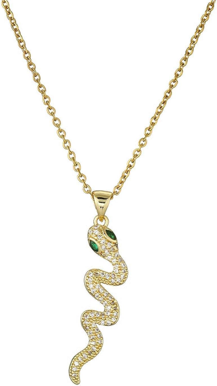 SWAOOS Women Delicate Sales Chain Ranking TOP14 Crocodile Neckl Snake Pendant Animal