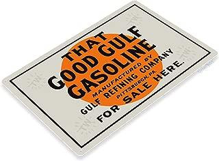 Tinworld Tin Sign Gulf Good Gasoline Retro Oil Gas Metal Sign Decor Auto Shop Garage Cave A418