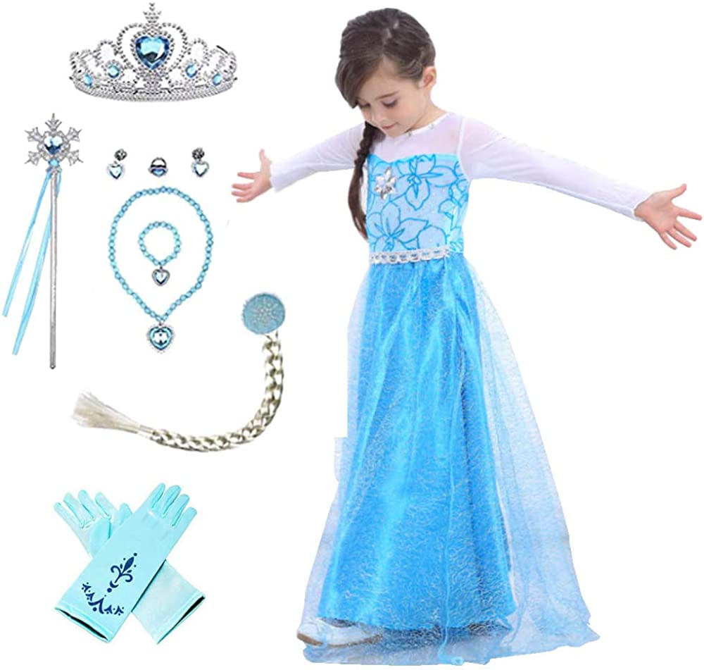 Max 87% OFF Princess Outlet ☆ Free Shipping Costumes birthday party Set for princess little g dress