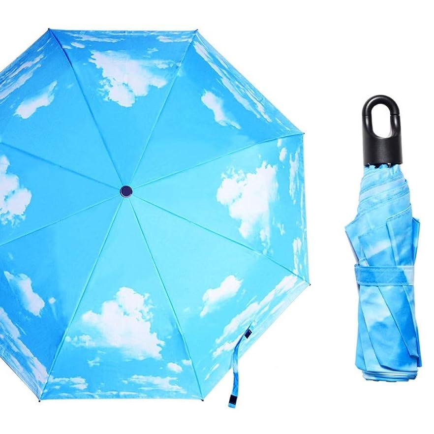 西雹量折りたたみ傘 自動開閉 耐強風 超撥水 210T丈夫なグラスファイバー 収納ポーチ付き