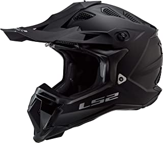 LS2 Motocross-Helm MX 470 Subverter Schwarz Gr. L
