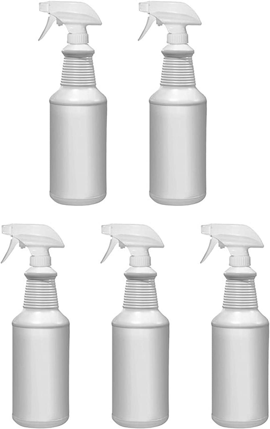 5 Pack 32 Oz All-Purpose HDPE Heavy with Bottles Adju Spray Ranking TOP2 price Duty