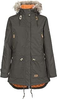 Trespass Clea Womens Waterproof Jacket Hooded Ladies Longer Length Rain Coat