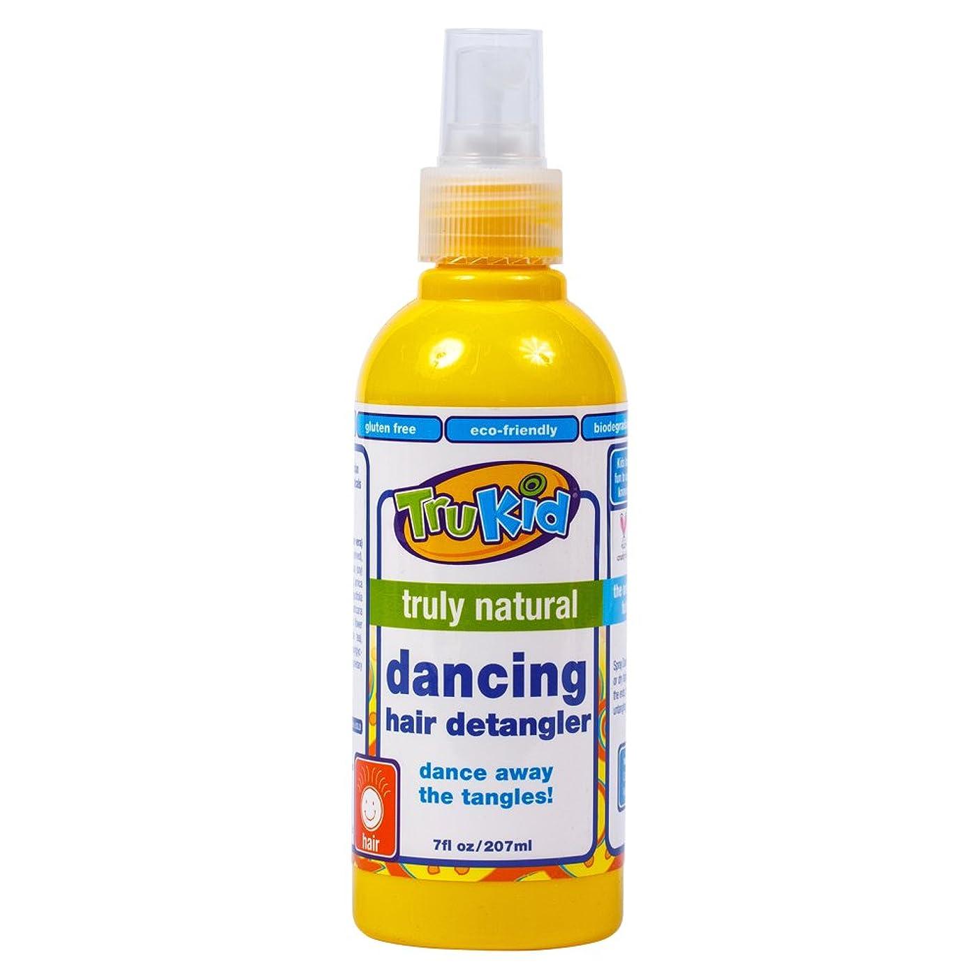 アンティーク検出器火TruKid, Dancing Hair Detangler, 7 fl oz (207 ml)