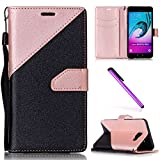 EMAXELERS Galaxy A5 2017 Coque Cute Triangle PU Cuir Portefeuille Housse Swag Case Cover Coquille Coque pour Samsung Galaxy A5...