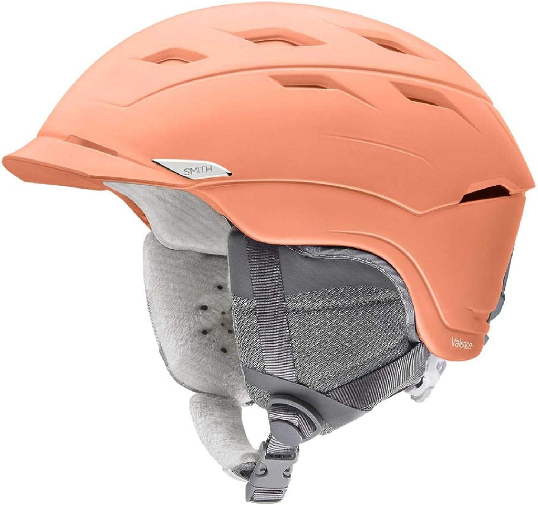 Smith Optics Valence Women's Ski Snowmobile Helmet  Matte Salmon Small