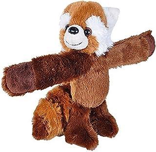 "Wild Republic Huggers Red Panda Plush, Slap Bracelet, Stuffed Animal, Kids Toys, 8"""