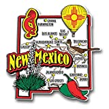 New Mexico State Jumbo Map Magnet by Classic Magnets