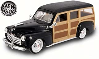 Road Signature 1948 Ford Woody, Black 94251 - 1/43 Scale Diecast Model Toy Car