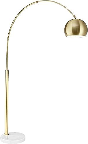 discount Basque new arrival Arc outlet sale Floor Lamp Gold outlet sale