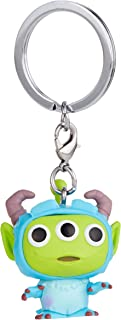 Funko 48356 POP Keychain: Pixar-Alien as Sulley Anniversary Collectible Toy, Multicolour