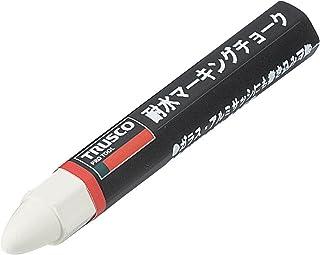TRUSCO(トラスコ) 耐水マ-キングチョ-ク19G白 白 TMC19T