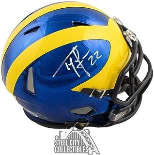 bc3c44ba Amazon.com: Ty Law Autographed Michigan Wolverines Chrome Mini Football  Helmet - BAS COA - Beckett Authentication: Sports Collectibles