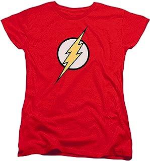 Women's Flash Lightning Bolt Logo T Shirt & Stickers