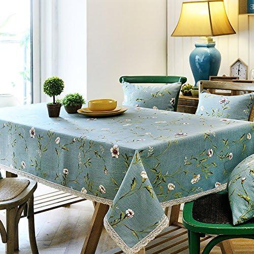 SCLOTHS Coton Style européen Table à Manger Table Basse,Nappe 240  240cm