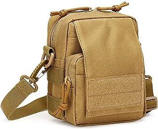 #N/A FEITeng Herren Umhängetasche, Rucksack Messenger Bags für Outdoor Sport Travel Wandern Camping,Khaki