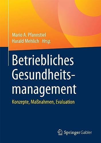 Books By Mario A Pfannstiel Harald Mehlich_betriebliches ...