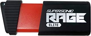 Patriot 1TB Supersonic Rage Elite USB 3.1 Type A, USB 3.0 Flash Drive with Transfer Speeds of Up to 400MB/sec