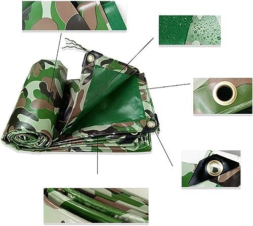 Couverture imperméable de bache de camouflage de bache de prougeection de bache de terre d'armée bache résistante de Camo dans beaucoup de tailles abri de survie de bateau de camping ( Taille   5×8m )