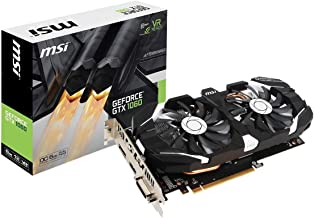 MSI GAMING GeForce GTX 1060 6GB GDRR5 192-bit HDCP Support DirectX 12 Dual Fan VR Ready OC Graphics Card (GTX 1060 6GT OCV...
