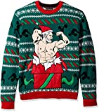 Blizzard Bay Men's Ugly Christmas Sweater Fitness, Red/Green, Large