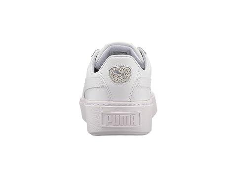 puma platform basket glitz jr