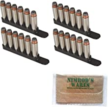 Nimrod's Wares Bianchi .38 .357 Revolver 4 x Speed Strips 6 Rounds 20056 Bundle Microfiber Cloth