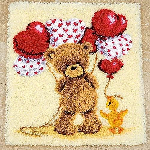 DOPN Set di tappeti con gancio per uncinetto, fai da te, per lavori a uncinetto, set di uncinetti