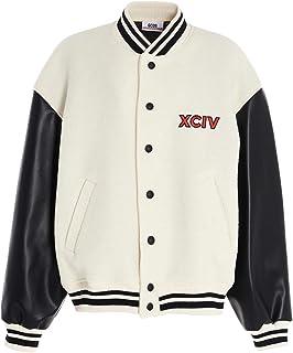 GCDS Luxury Fashion Uomo FW21M04007001 Bianco Lana Giacca Outerwear | Autunno-Inverno 20