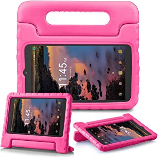 """SIMPLEWAY T-Mobile Alcatel 3T 8-inch/Alcatel A30 Tablet 8"""" Case, Lightweight Kid-Proof Handle Stand Cover Fit Alcatel 3T 8..."""