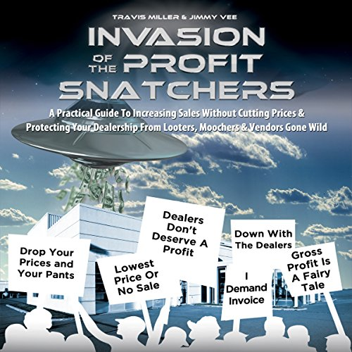 Invasion of the Profit Snatchers Audiobook By Jimmy Vee,                                                                                        Travis Miller cover art