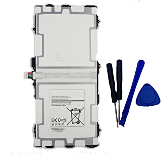 aowe Replacement Battery EB-BT800FBU for Samsung Galaxy TAB S 10.5 LTE SM-T800 SM-T801 SM-T805 SM-T807 SM-T807A SM-T807P Series Tablet EB-BT800FBE 3.8V 7900mAh