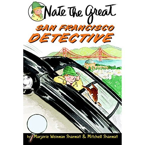 Nate the Great, San Francisco Detective audiobook cover art