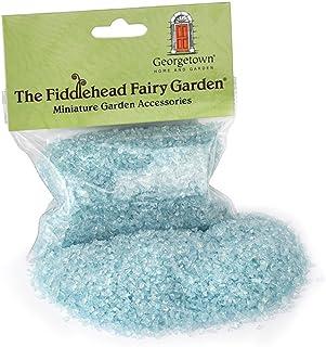 Georgetown Home and Garden Miniature Fairy Garden Glass (Blue)